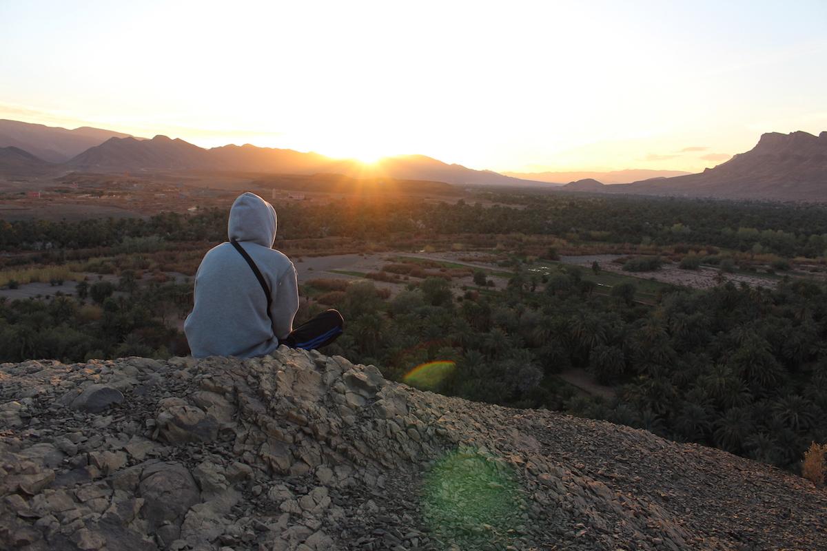 Stephane Szmil biographie maroc coucher de soleil