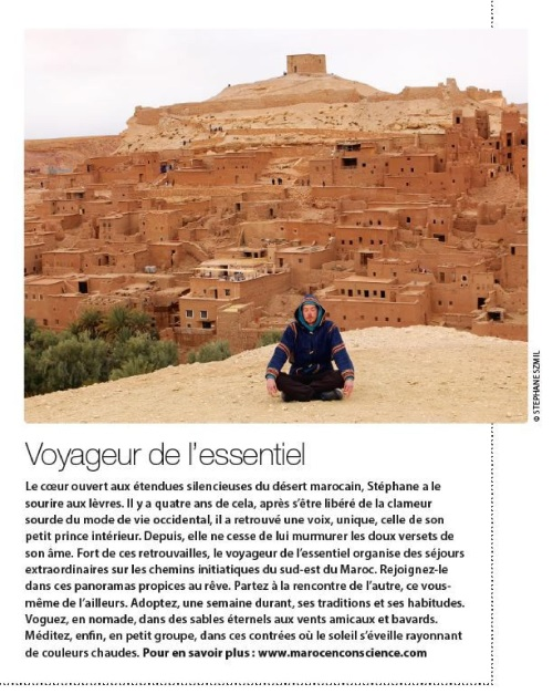 maroc conscience happinez voyageur essentiel