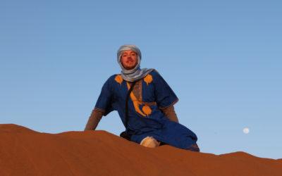 Bloqué dans le désert !